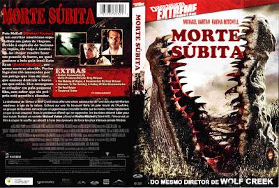 Filme Morte Subita DVD Capa