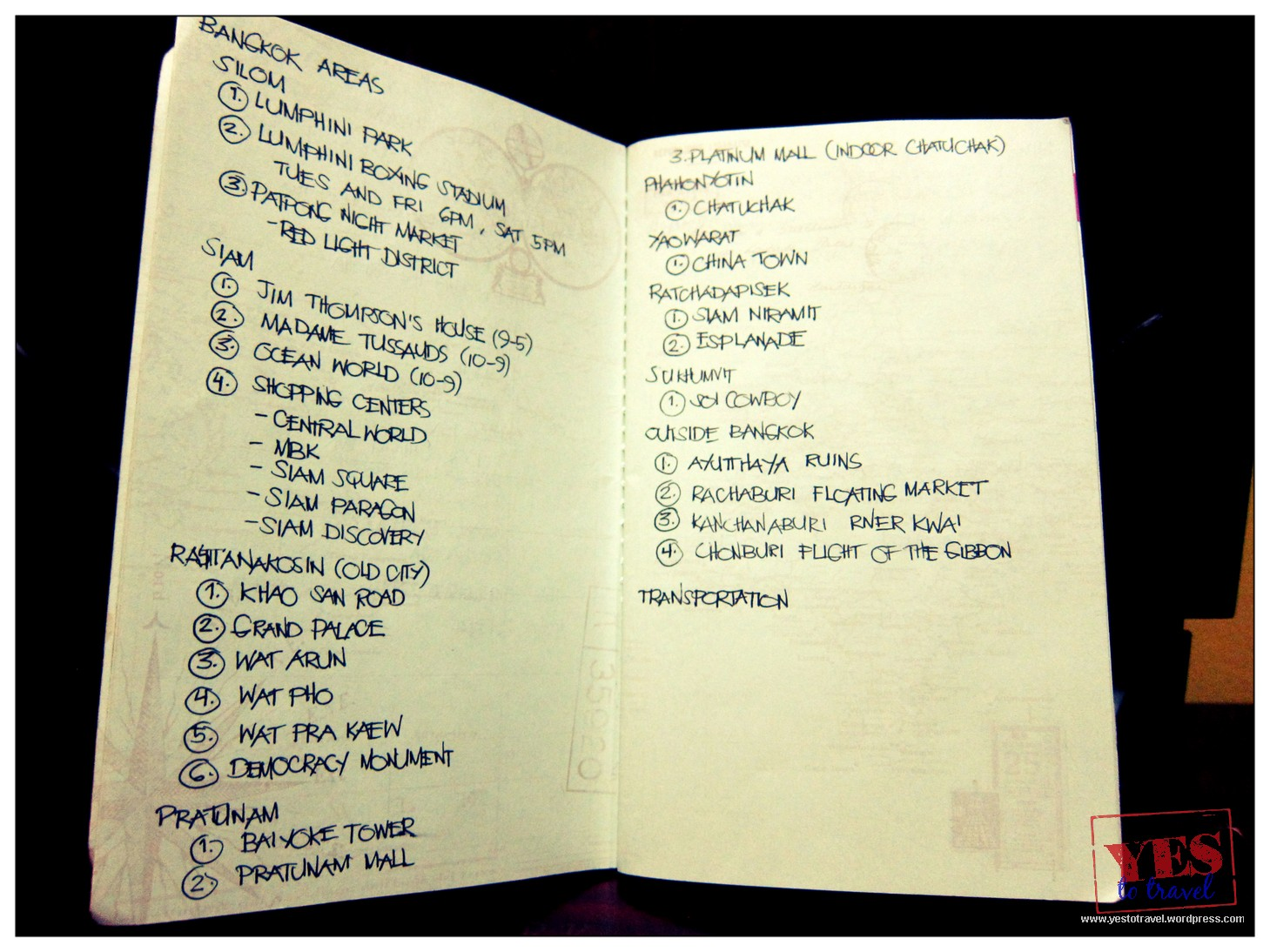13 Things You Must Write In Your Travel Notebook Before ...