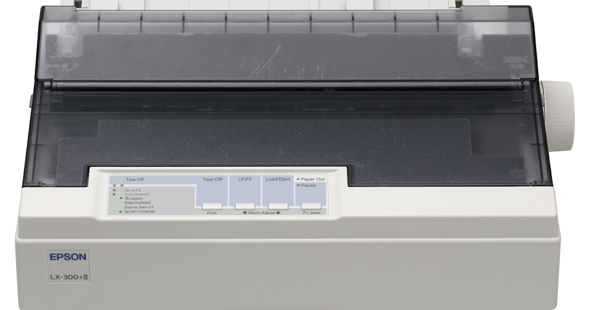 Software Free Download: Download Epson Lx 300 & LX-300+ II