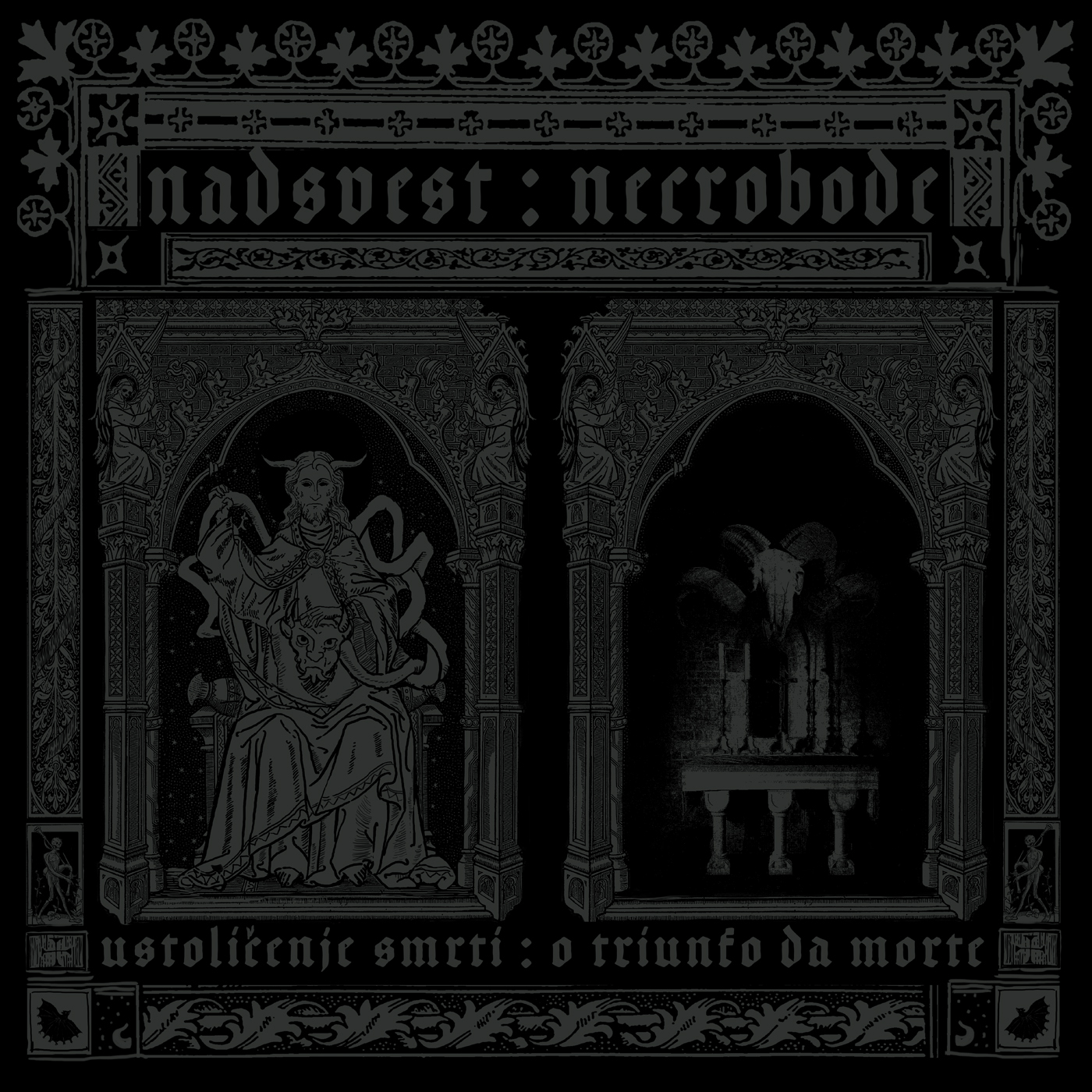 "Nadsvest / Necrobode - Split 12"" MLP - Press Release."