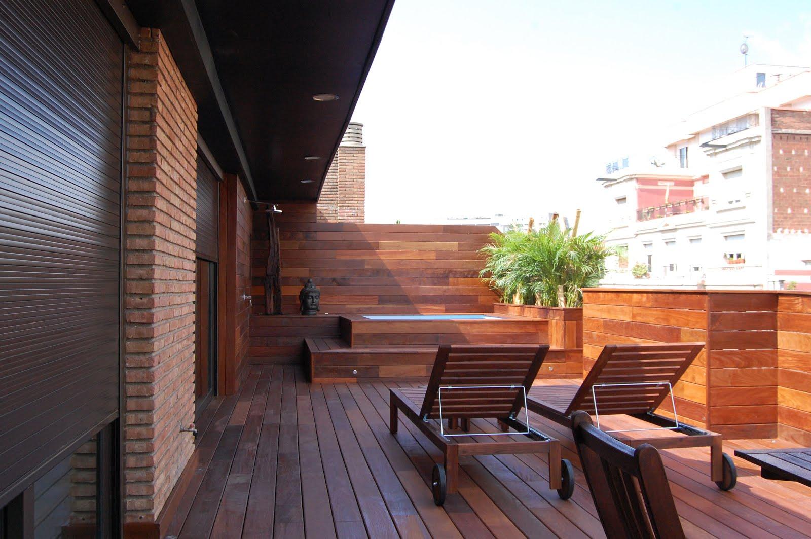 Terraza con piscina guia de jardin aprende a cuidar tu - Terrazas de piscinas ...