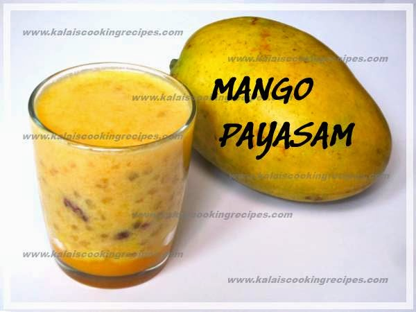 Delicious Mango and Sago Kheer | Mambalam Javarisi Payasam Recipe