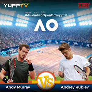 Watch Andy Murray Vs Andrey Rublev Match LIVE