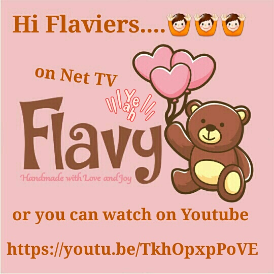Follow Instagram @flavycraft