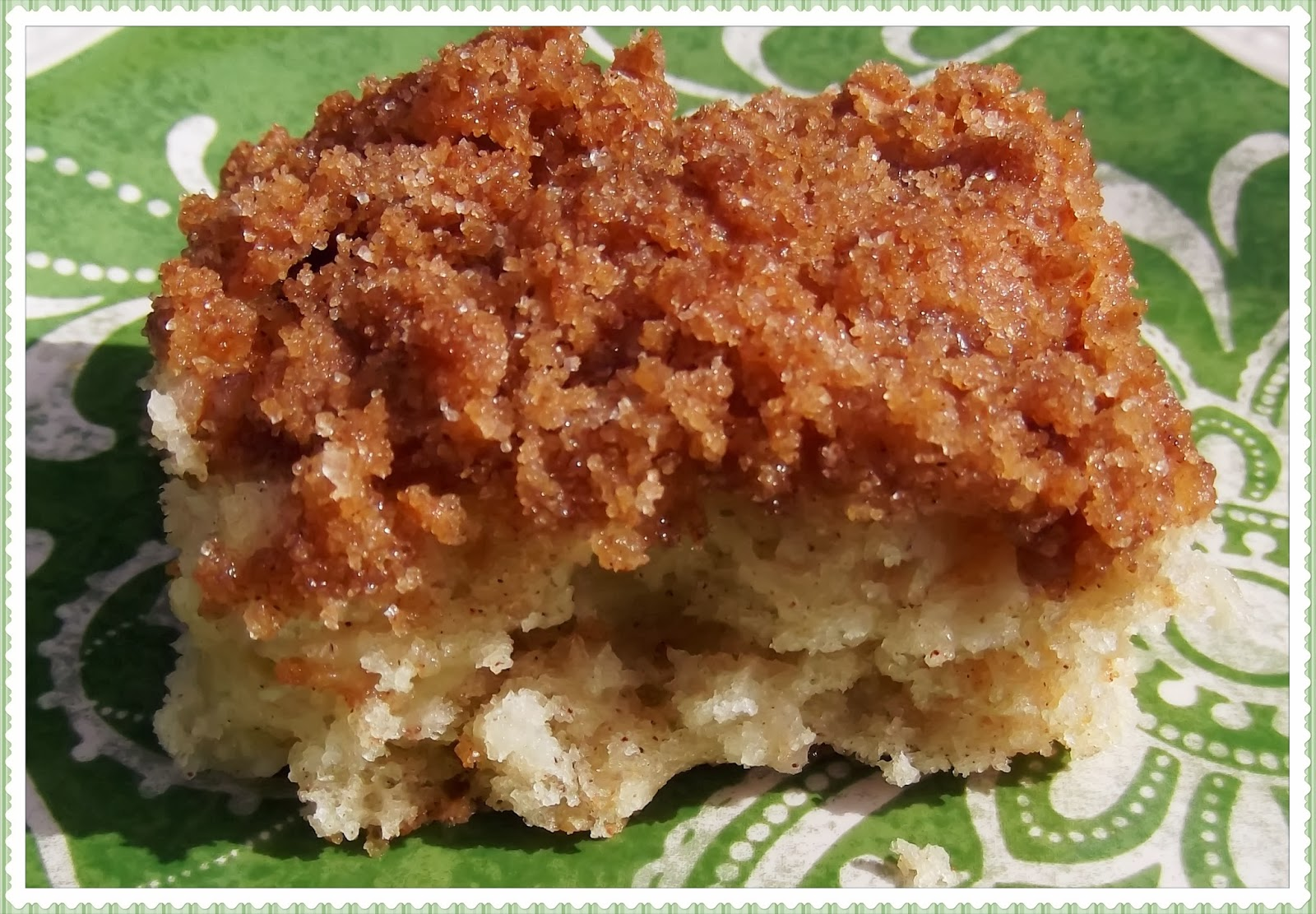 Rosie's Country Baking: Apple Streusel Coffee Cake