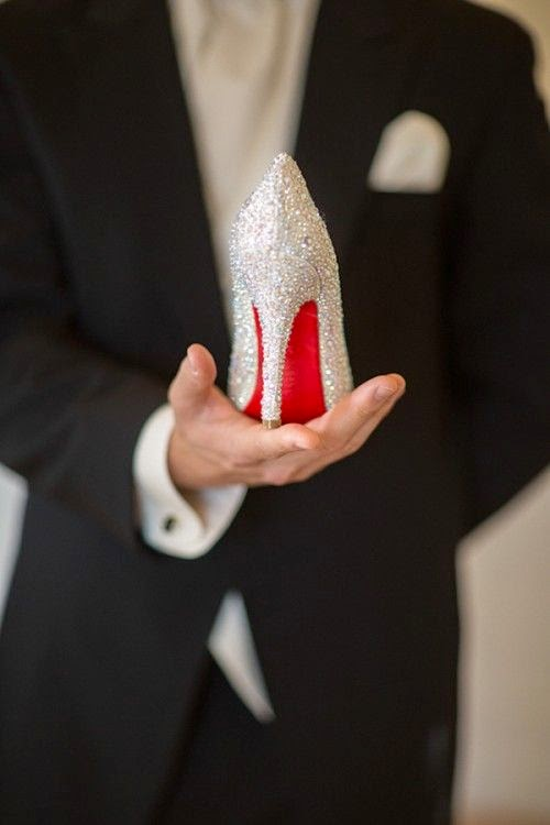 wedding shoes bride wedding day inspiration