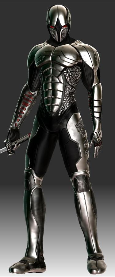 Puszt  237 t  243 Futuristic Ninja Armor