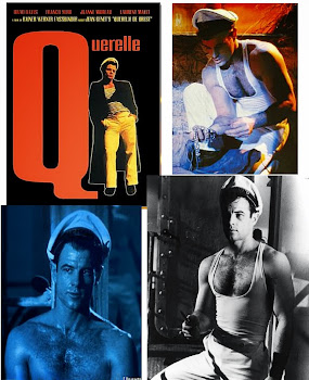 Rainer Fasbinders last film Querelle (1982) Brad Davis &amp; Jeanne Moreau - FREE ship USA