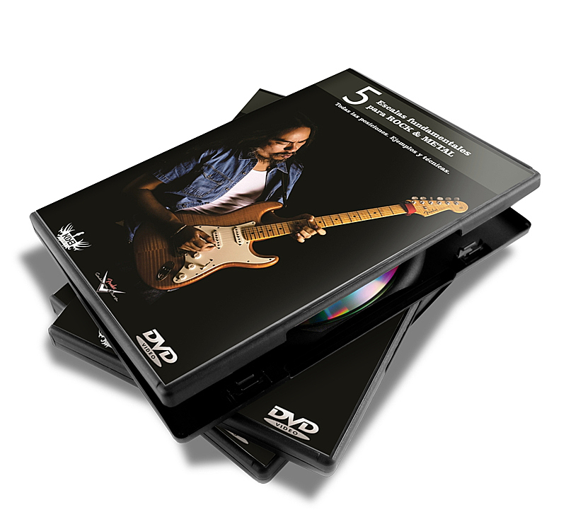Dvds Instructivos de Guitarra eléctrica