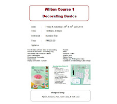 Next Class: Wilton Course 1 -Decorating Basics