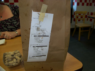 Greasy five guys french fries
