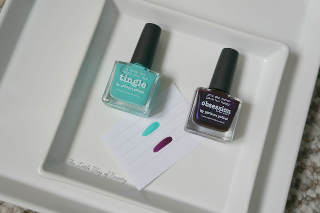 piCture pOlish nail varnishes - Tingle and Obsession
