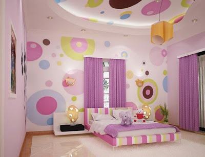 Kumpulan Desain Wallpaper Dinding Kamar Tidur Untuk Pengantin Baru