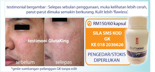 glutaking review, glutaking jimat, cara makan gluta king