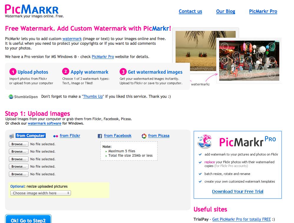PicMarkr - Free Watermark Maker