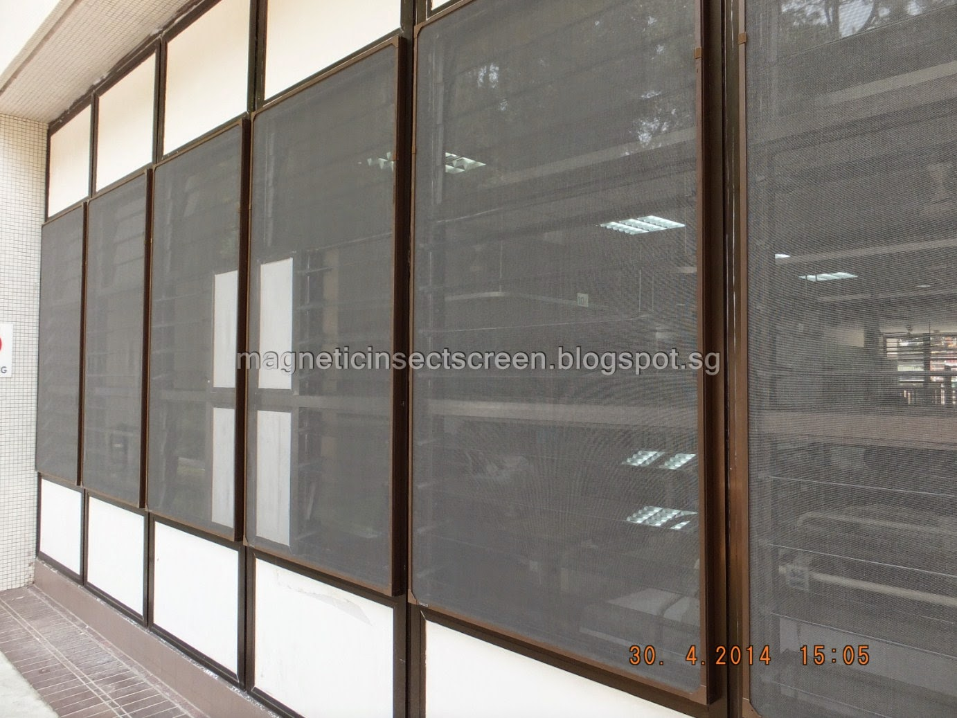 Diy magnetic insect screen singapore installation on 30 for Window insect screen