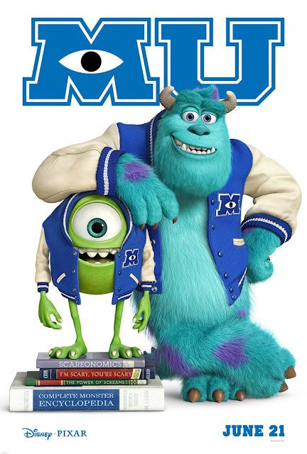 Poster Monsters Inc University