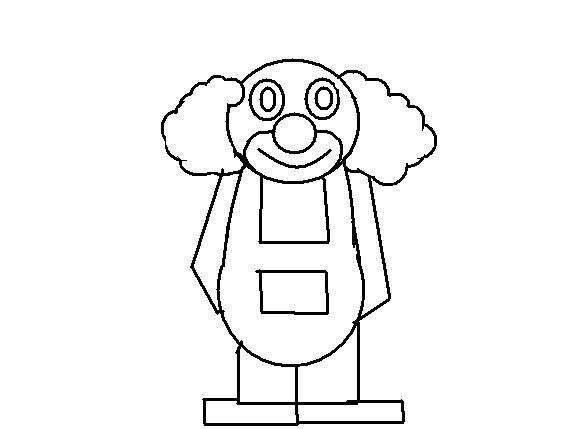 desenhos para colorir desenho infantil para colorir de palhaço
