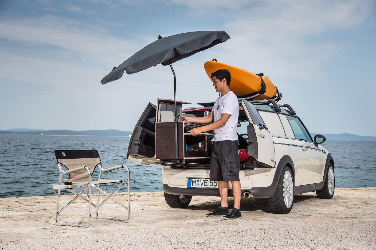 Mini Keuken Camper : Kampeerblog: CAMPER : de MINI Clubvan Camper, kamperen voor eenzaten.