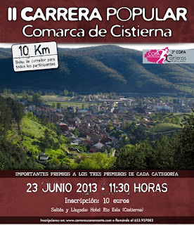 carrera popular comarca de cistierna www.mediamaratonleon.com