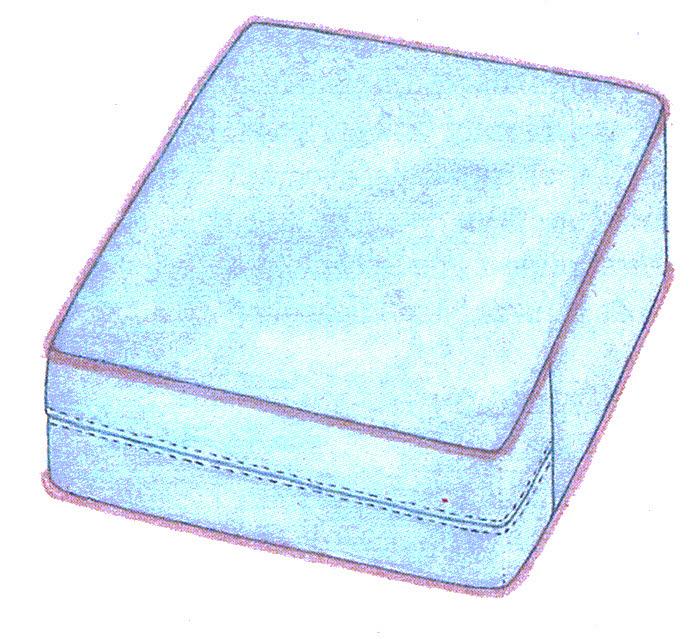 Patrones de costura cojines con fuelle - Medidas de cojines ...