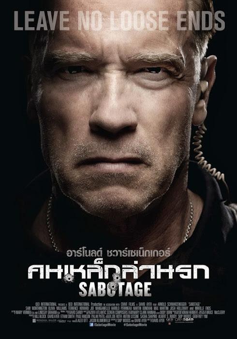 ตัวอย่างหนังใหม่ : Sabotage คนเหล็กล่านรก (ซับไทย) poster