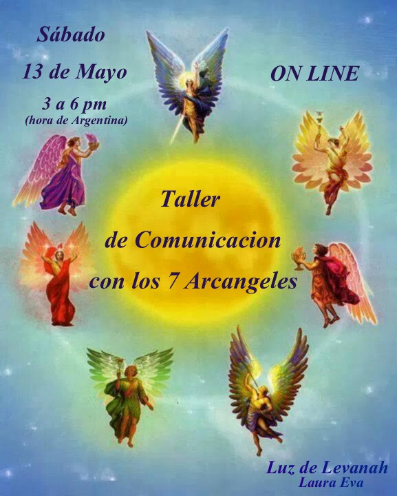 ♥ TALLER DE COMUNICACIÓN CON LOS SIETE ARCANGELES ♥