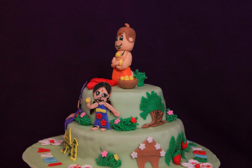 Chota Bheem Images For Birthday Cake : Chota Bheem Birthday Cake Games images