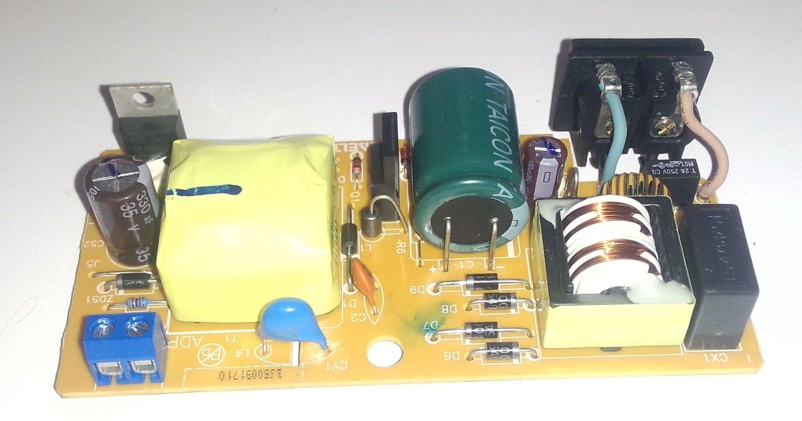 Импульсный трансформатор для блока питания своими руками 535