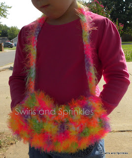 Swirls and Sprinkles: free crochet hand muff pattern