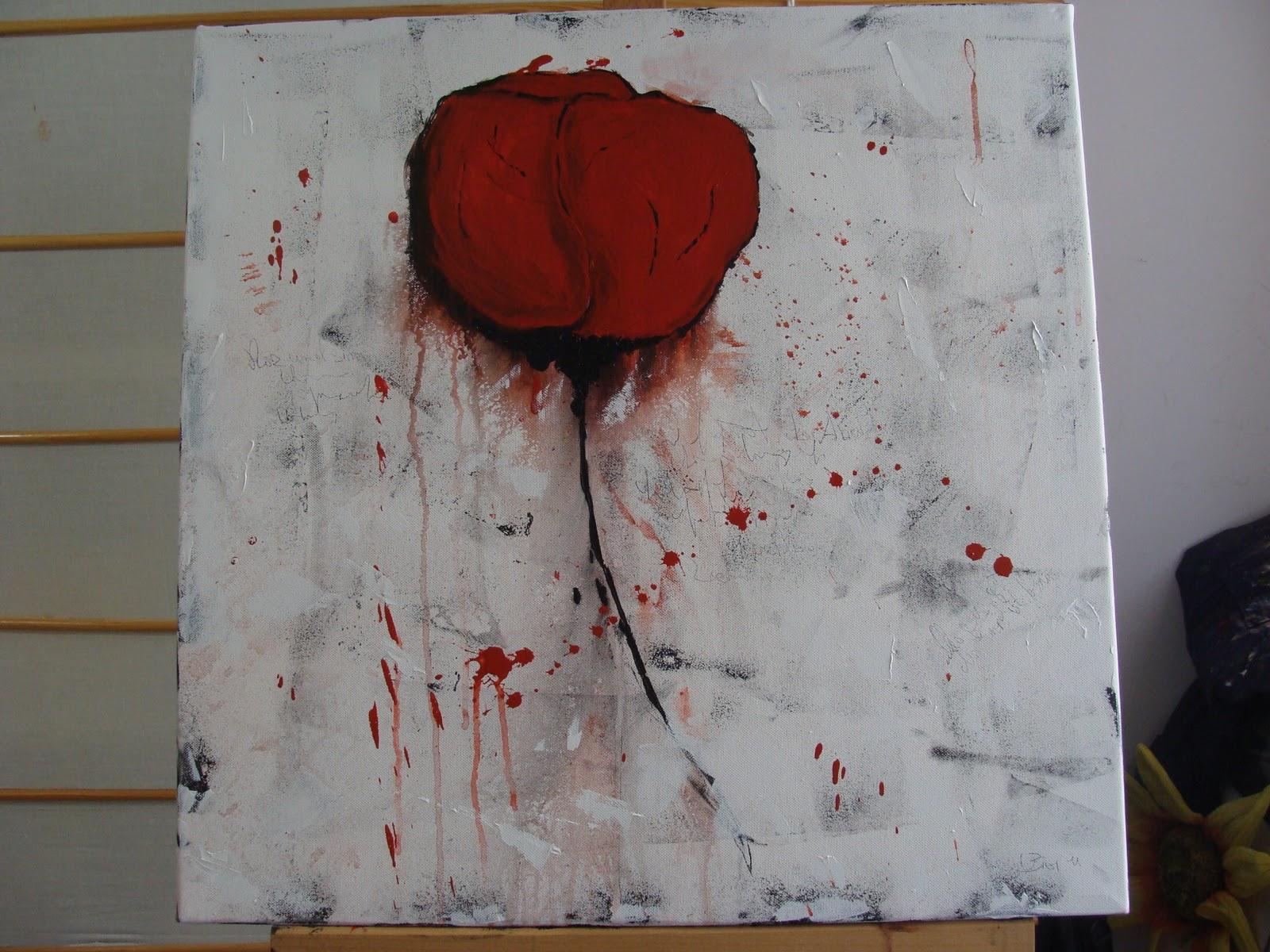 Leben mit der kunst oktober 2011 - Acrylmalerei ideen ...