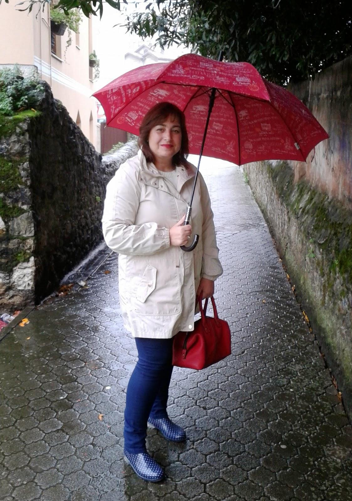 A mi estilo: Look de lluvia
