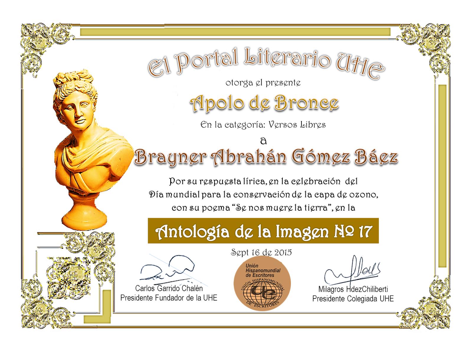 apolo de bronce