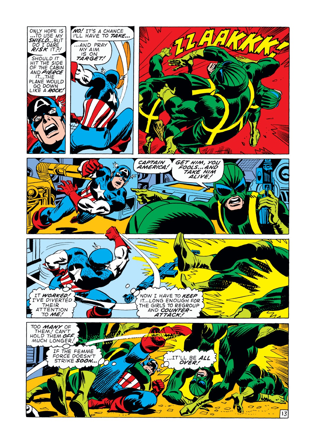 Captain America (1968) Issue #145 #59 - English 14