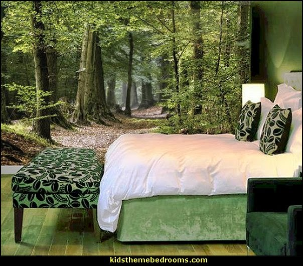 Decorating theme bedrooms maries manor tree murals for Bedroom mural designs