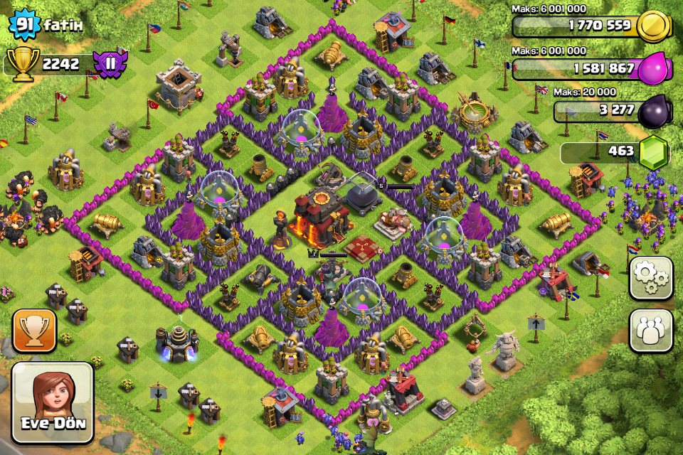 Clash of Clans Town Hall Level 1