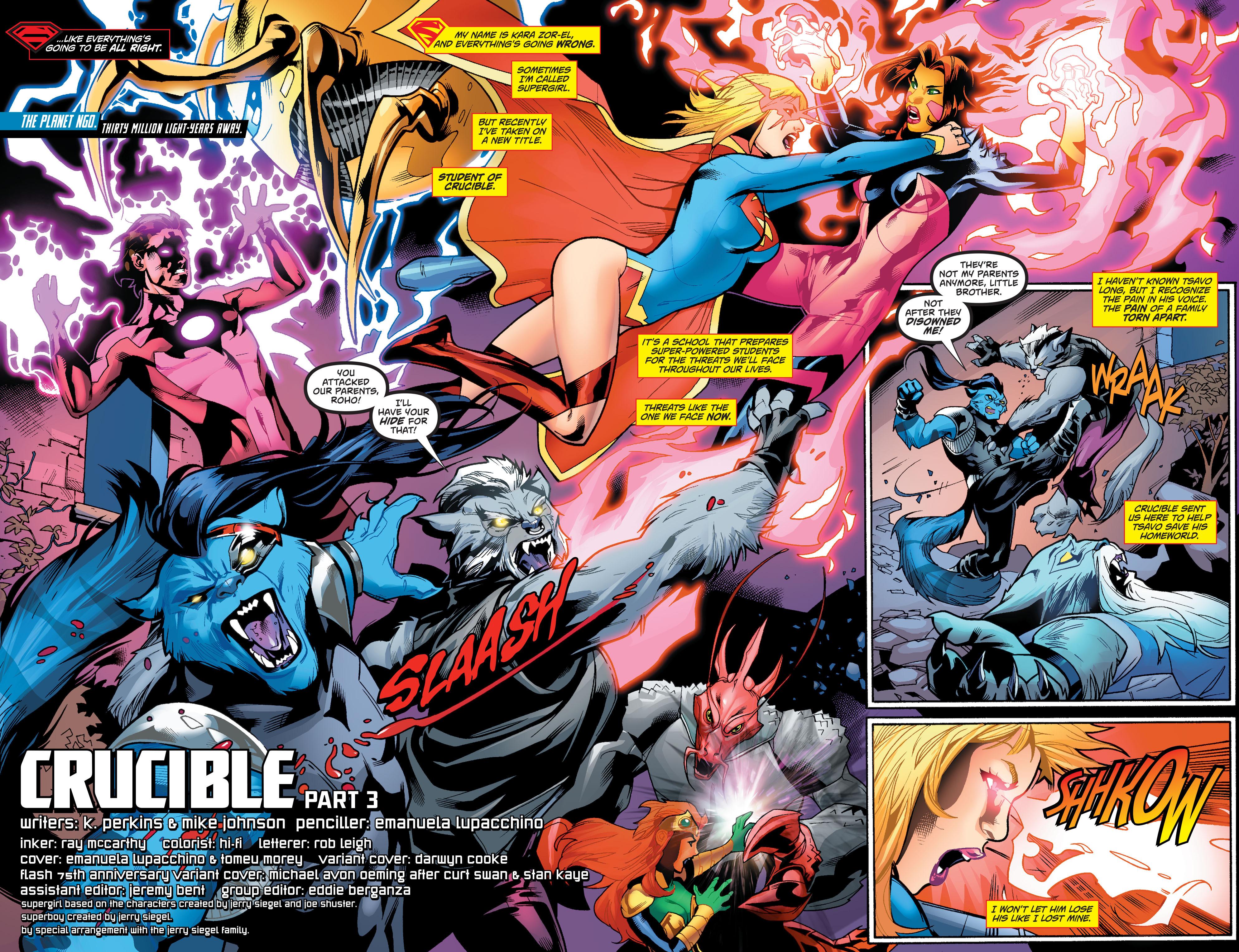 Supergirl (2011) Issue #38 #40 - English 3