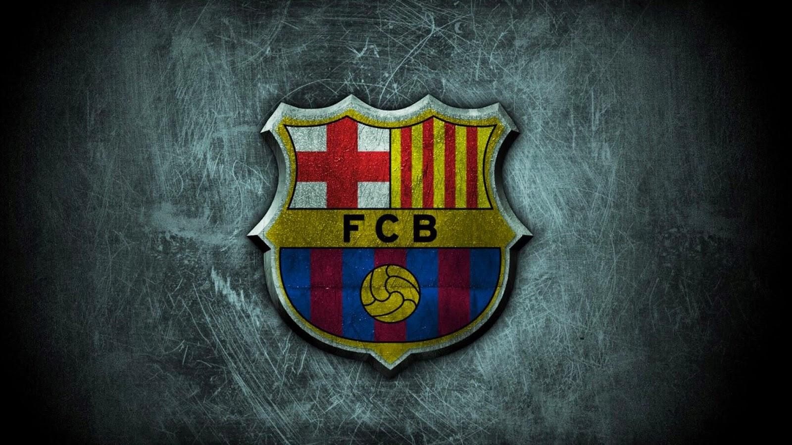 Wallpaper Keren Logo Fc Barcelona Gambar Kartun Lucu