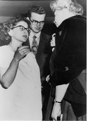 meeting Eleanor Roosevelt 1948
