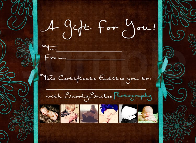 photoshoot gift certificate template - free printable pet portrait gift certificate template