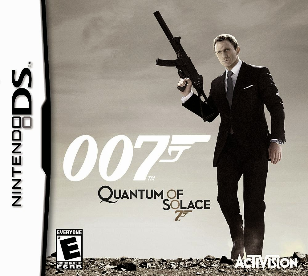 007 – Quantum of Solace (Nintendo DS) (ingles)