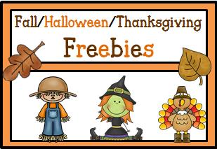 fall freebies