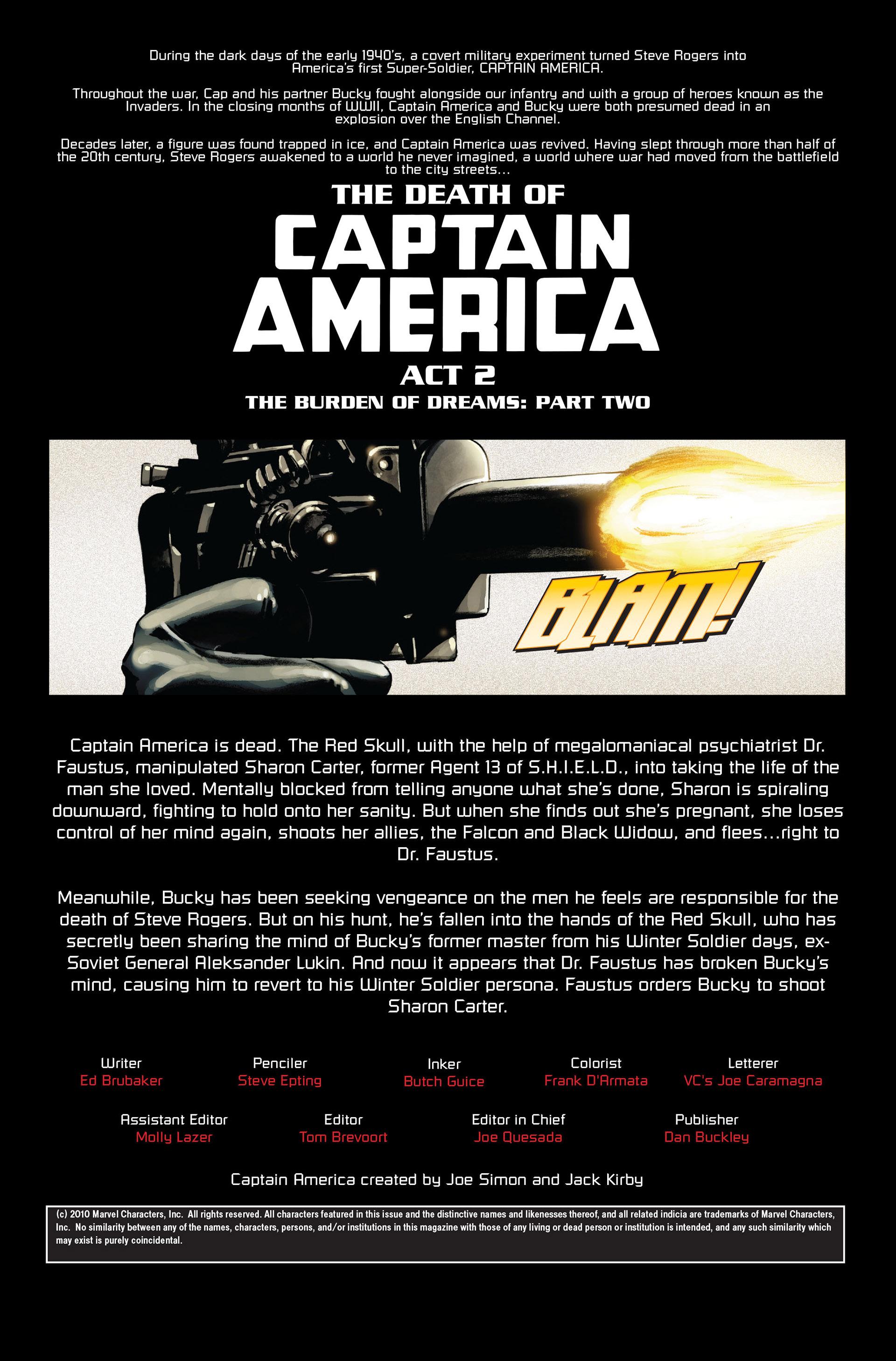 Captain America (2005) Issue #32 #32 - English 2