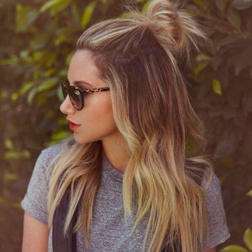 Peinados de verano sexy