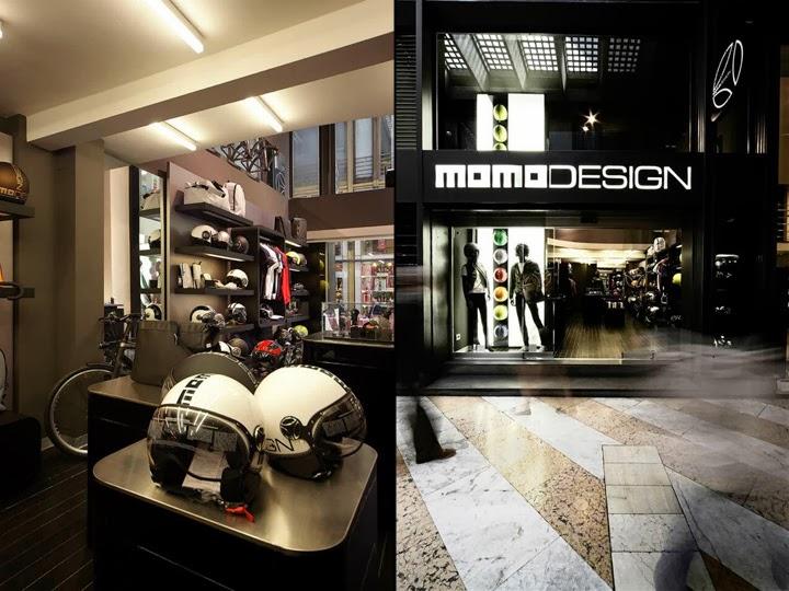 MOMO DESIGN, Flagship store, Milán