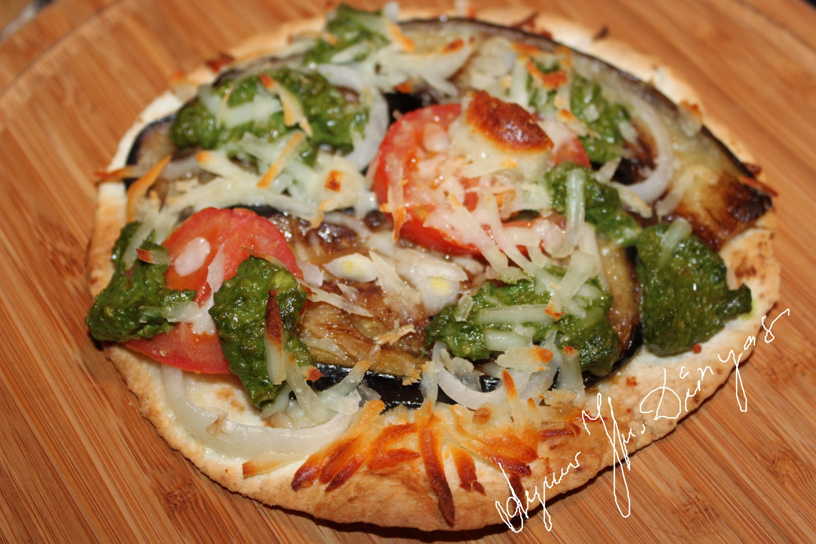 Pesto Soslu Pizza