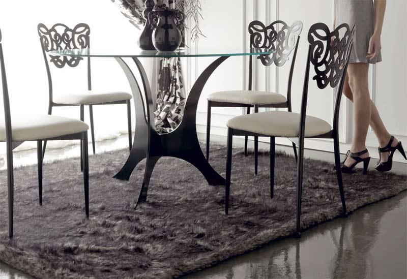 Muebles de forja mueble sal n en forja colecci n milos - Muebles en forja ...