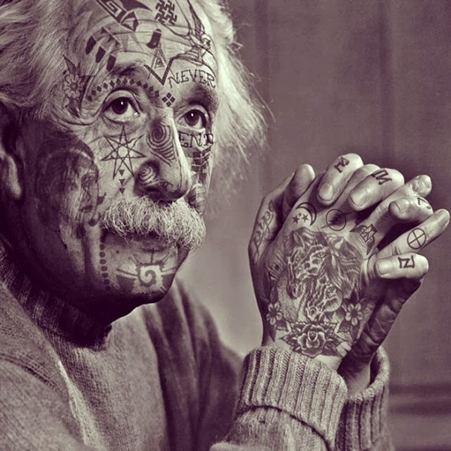 01-Albert-Einstein-Cheyenne-Randall-Shopped-Tattoos-Tattooed-Celebrities-www-designstack-co