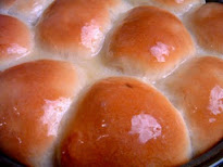 Soft Buttered Buns