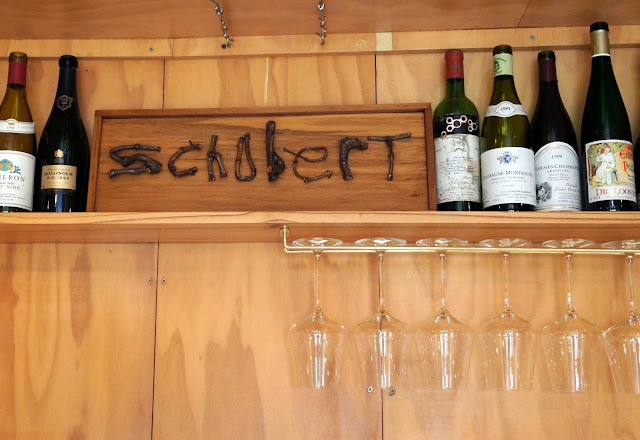 Second stop on our wine adventure - Schubert Wines - Martinborough